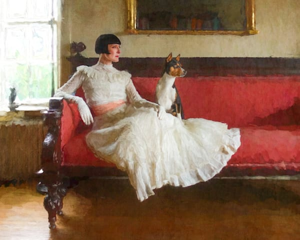 Colleen On A Couch Photography Art | Steven Rosen Photography