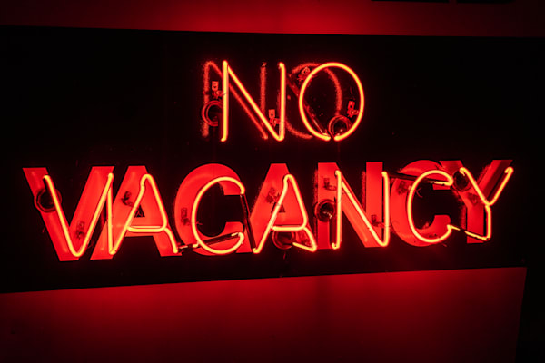 No Vacancy Photography Art | Scott Krycia Photography