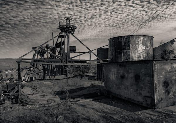 Abandoned Mining Equipment Randsburg Photography Art | Dan Katz, Inc.