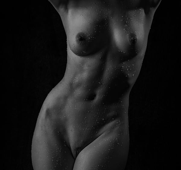 Splashed Torso Photography Art | Dan Katz, Inc.