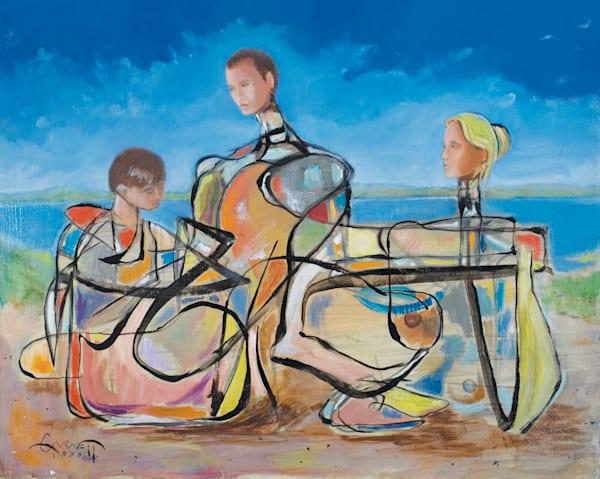 Family  Art | Sandy Garnett Studio