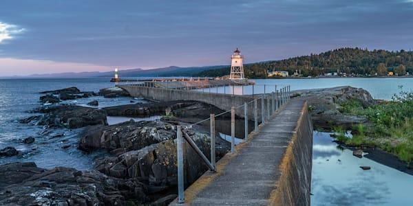 Grand Marais Lighthouse #10  Art | Lens Prose Gallery Studio, LLC