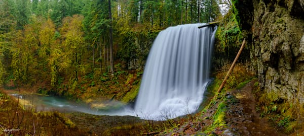Middle North Falls Art | Jeffrey Knight Photography