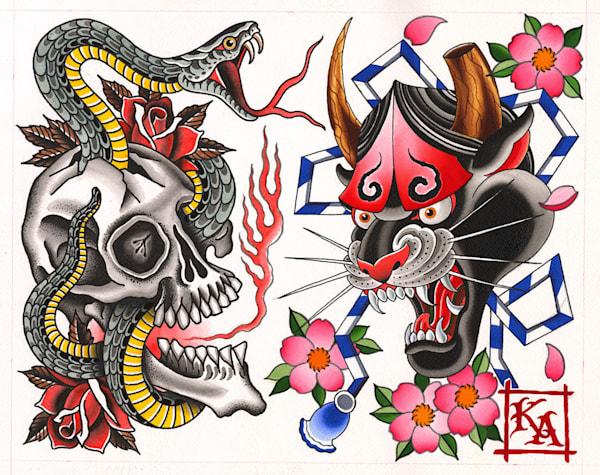 Grez X Brummett Collaboration | Kings Avenue Tattoo