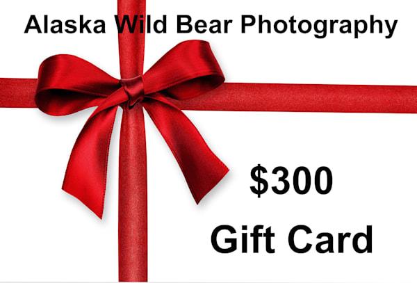 $300 Gift Card | Alaska Wild Bear Photography