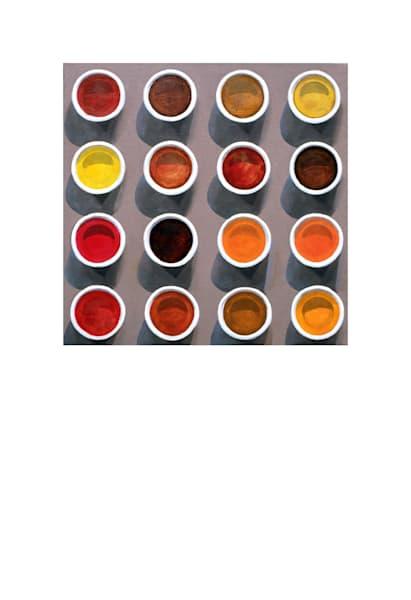 Herbal Teas Art | Courtney Miller Bellairs Artist
