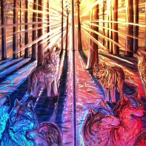 Solstice The Longest Hunt Art | Amy Keller Rempp Art