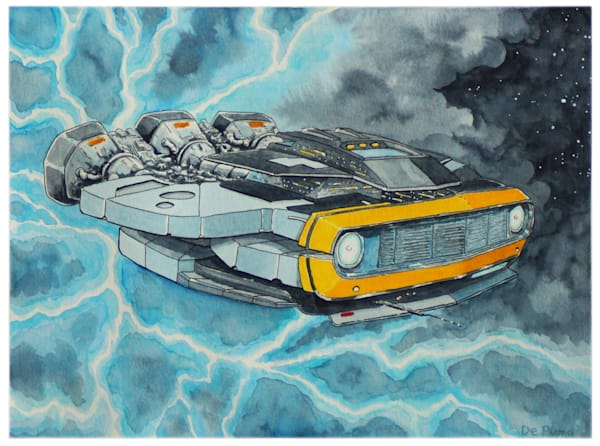 """""""Intergalactic Muscle"""". 2268 Camaro"""