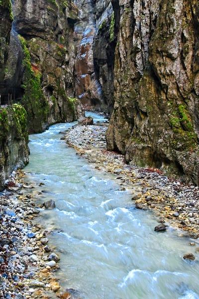 Partnachlamm (Gorge) II - A Fine Art Photograph by Marcos R. Quintana