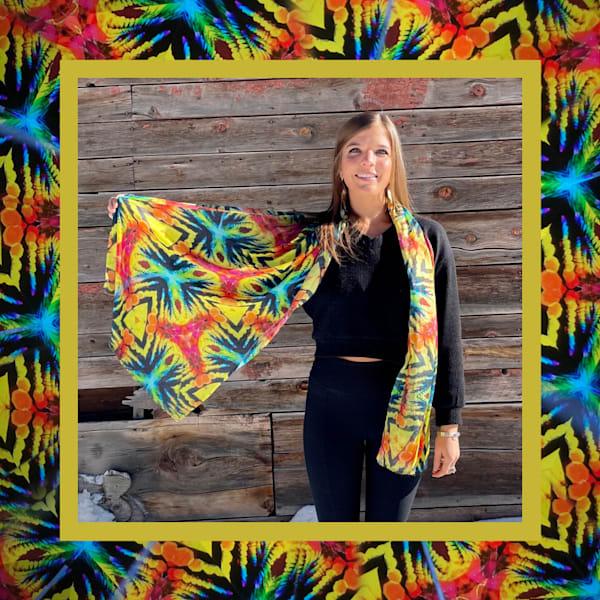 Kaleidoscope   Silk Blend   Mindbender Art