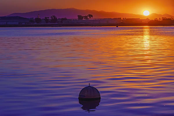 Shelter Island, San Diego Sunrise Fine Art Print by McClean Photography