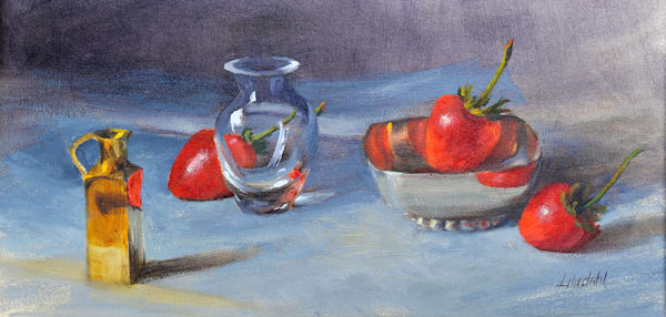 Strawberries and Crystal