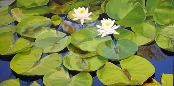 2018 Summer Water Lilies  Art   Helen Vaughn Fine Art