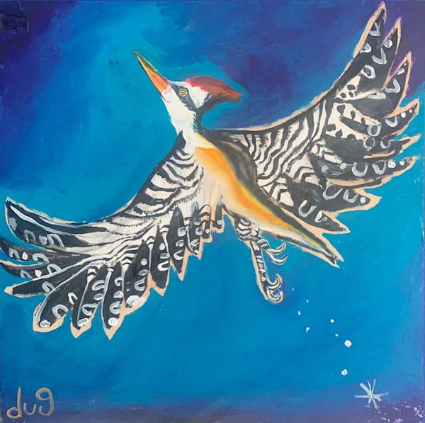 Happy As A Woodpecker  Art | DuggArt