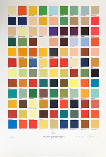 Colors Art | Courtney Miller Bellairs Artist
