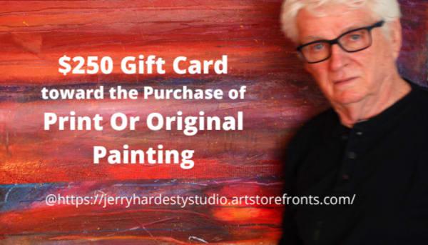 $250 Gift Card | Jerry Hardesty Studio