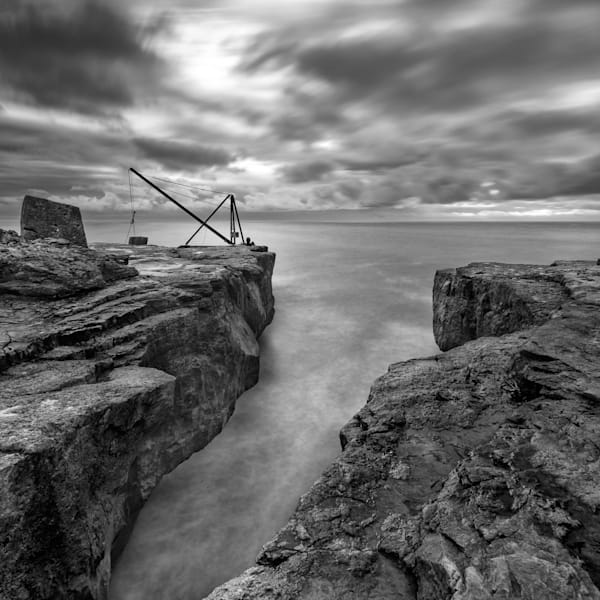 Red Crane At Portland Bill Art | Roy Fraser Photographer