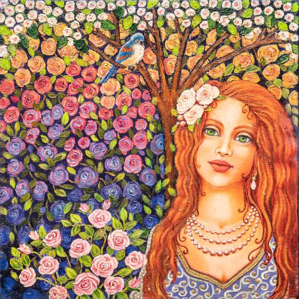Rose Garden Art | miaprattfineart.com