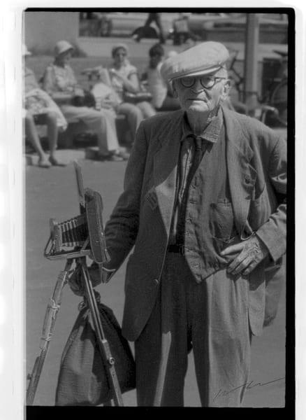 Camera Man Photography Art | Harry John Kerker Photo Artist