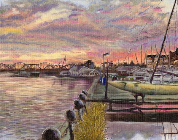 Shop gorgeous fine art prints of the Lake Davenport Sailing Club