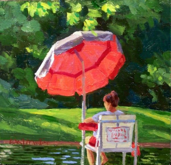 Lifeguard, 1 Mile Art   Waif Mullins Art