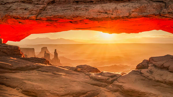 Mesa Arch Sun Flare 2  Photography Art | Grace Fine Art Photography by Beth Sheridan