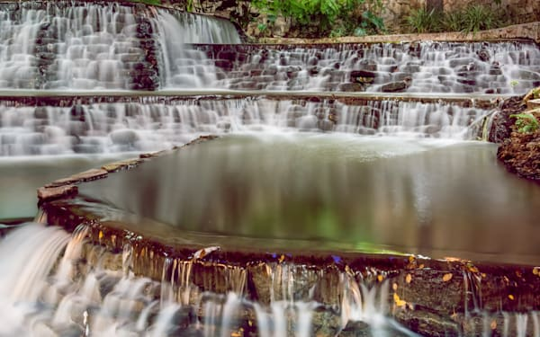 Riverwalk Waterfall 3 Photography Art | Grace Fine Art Photography by Beth Sheridan