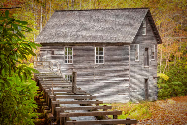 Mill In Autumn Photography Art | Grace Fine Art Photography by Beth Sheridan