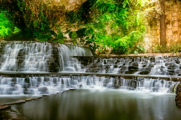 Riverwalk Waterfall Photography Art | Grace Fine Art Photography by Beth Sheridan