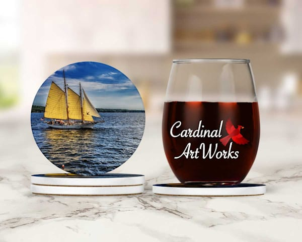 Ketch In Rockland Maine Coasters