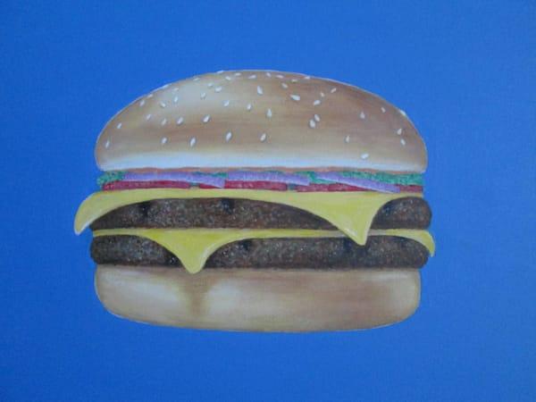Cheeseburger Art | Mid-AtlanticArtists.com