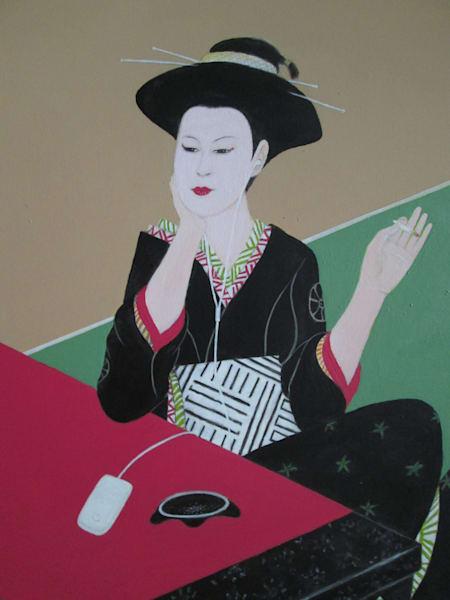 Grooving Geisha Art | Mid-AtlanticArtists.com