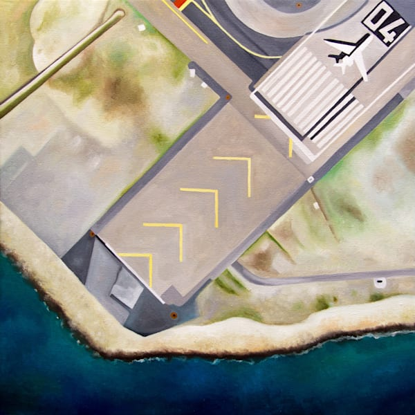 Nice Airport Art | Romanova Art