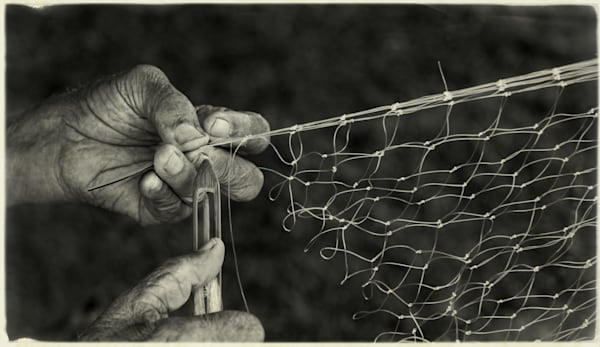 Net Maker   Hawaii Photography Art | Ed Sancious - Stillness In Change