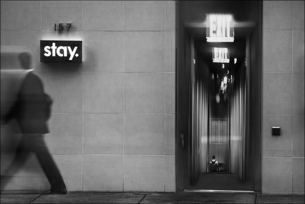 Urban Odyssey   Exit/Stay Photography Art | Ed Sancious - Stillness In Change