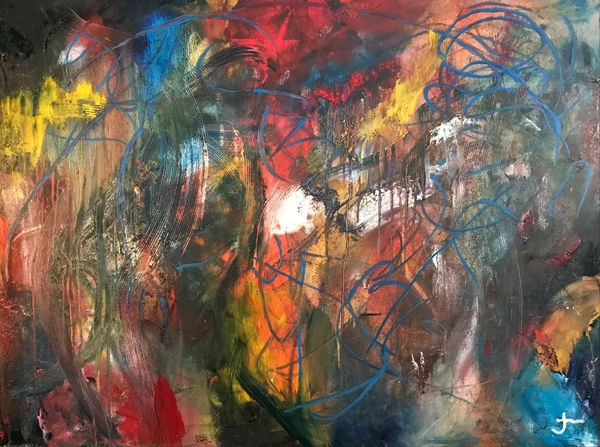 All My Favorite Colors Art   Jerry Hardesty Studio
