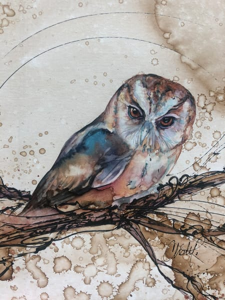 Barn Owl Art | Christy! Studios