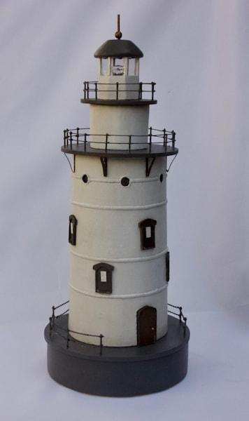 Saybrook Breakwater Lighthouse Art | Mid-AtlanticArtists.com