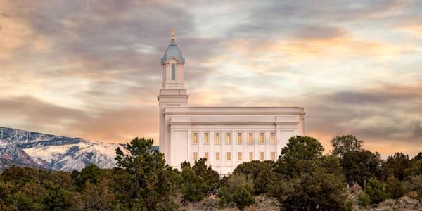 Cedar City Utah Temple - Beacon