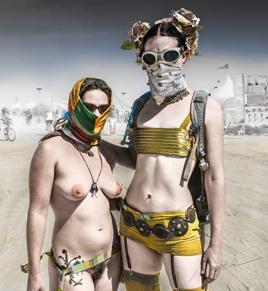 Burning Girls Photography Art | Harry John Kerker Photo Artist