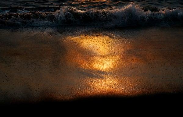 Sunrise Beach Photography Art | Ed Sancious - Stillness In Change