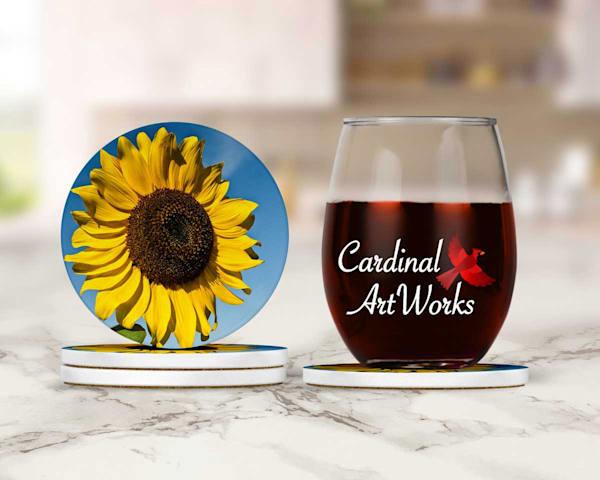 Grand Sunflower Coasters