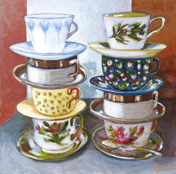 Tea Cups Iii | smalljoysstudio