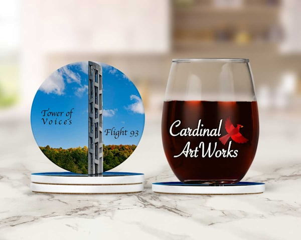 Flight 93 Tower of Voices Memorial Coasters