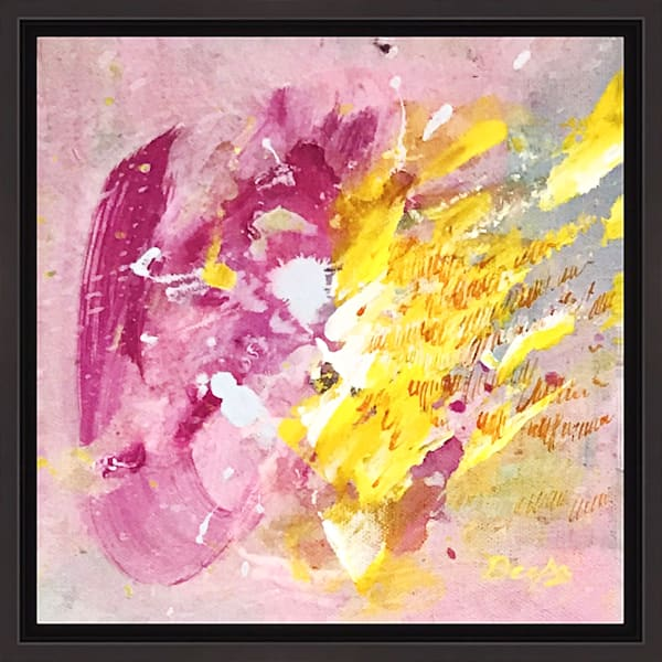 Wildflower Meadow V on Canvas by Artist  Deepa Koshaley
