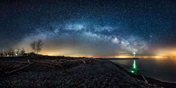 Galactic Rainbow Photography Art | Trevor Pottelberg Photography