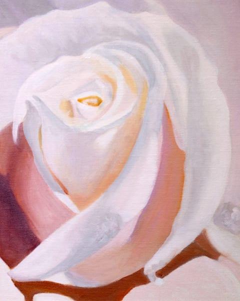 If You Love Me Art   Pearl White Studio