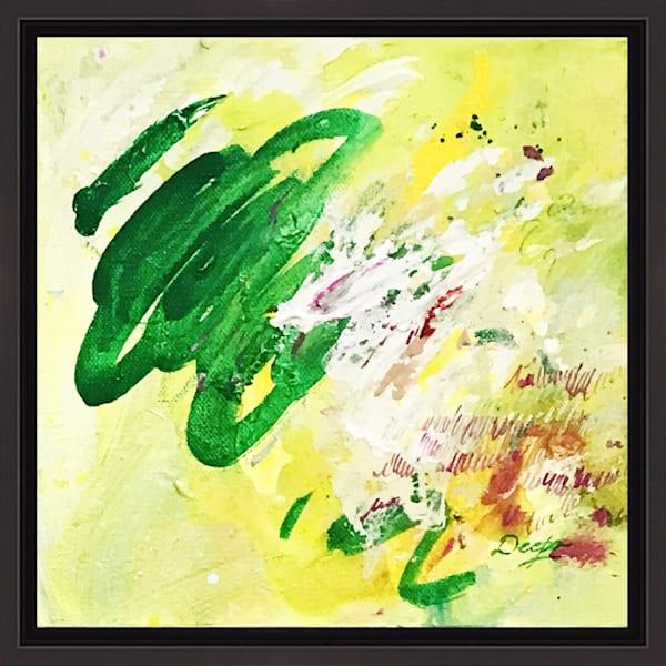 Wildflower Meadow VI on Canvas by Artist Deepa Koshaley