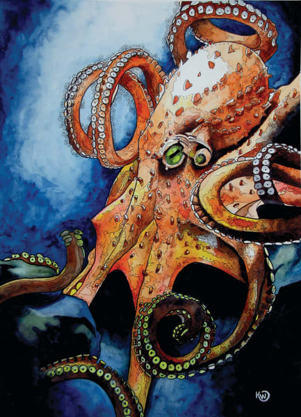 Sinister Art Print Art | Water+Ink Studios