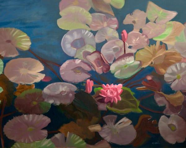 Pretty In Pink Art | Pearl White Studio
